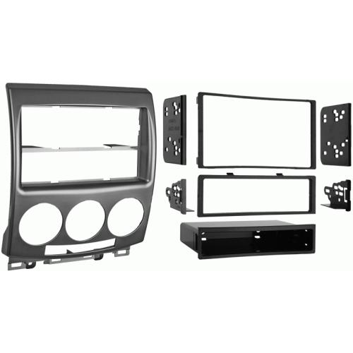 Metra 99-7509 Single/Double DIN Dash Kit with Pocket for 06-up Mazda 5