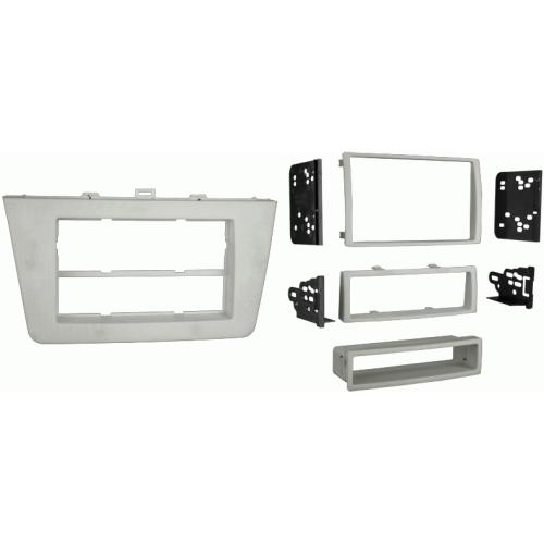 Metra 99-7511S Silver Single/Double DIN Dash Kit for 2009-up Mazda 6