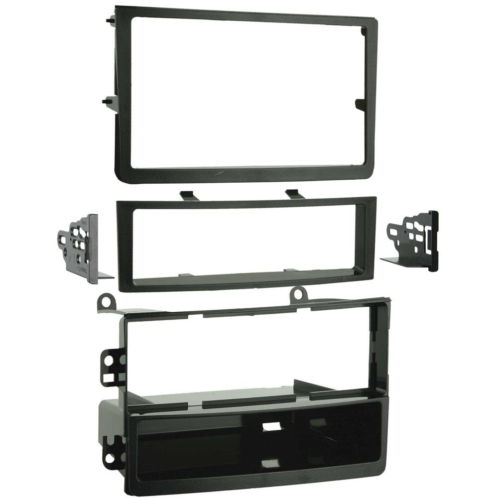 Metra 99-7602 Single/Double DIN Dash Kit for 2006-2008 Nissan 350Z