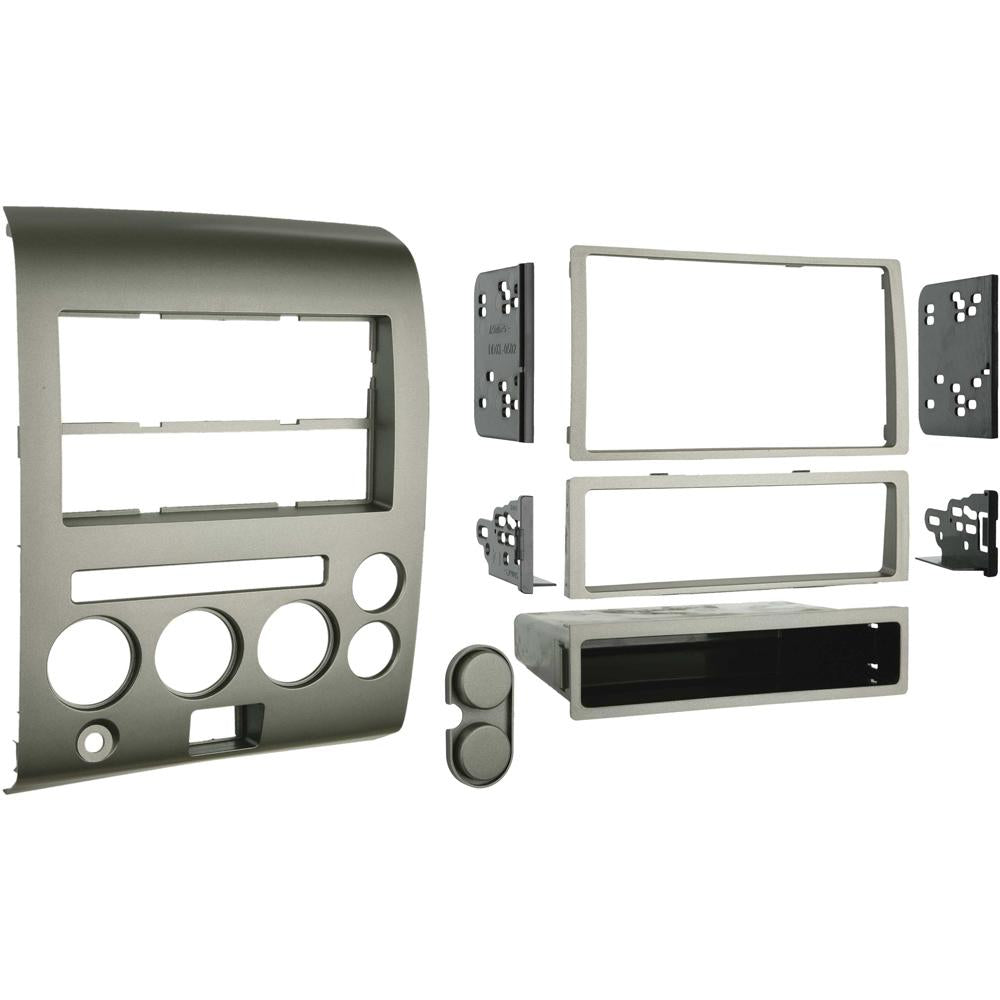 Metra 99-7606 Single/Double DIN Dash Kit for Select 2006-2007 Nissan