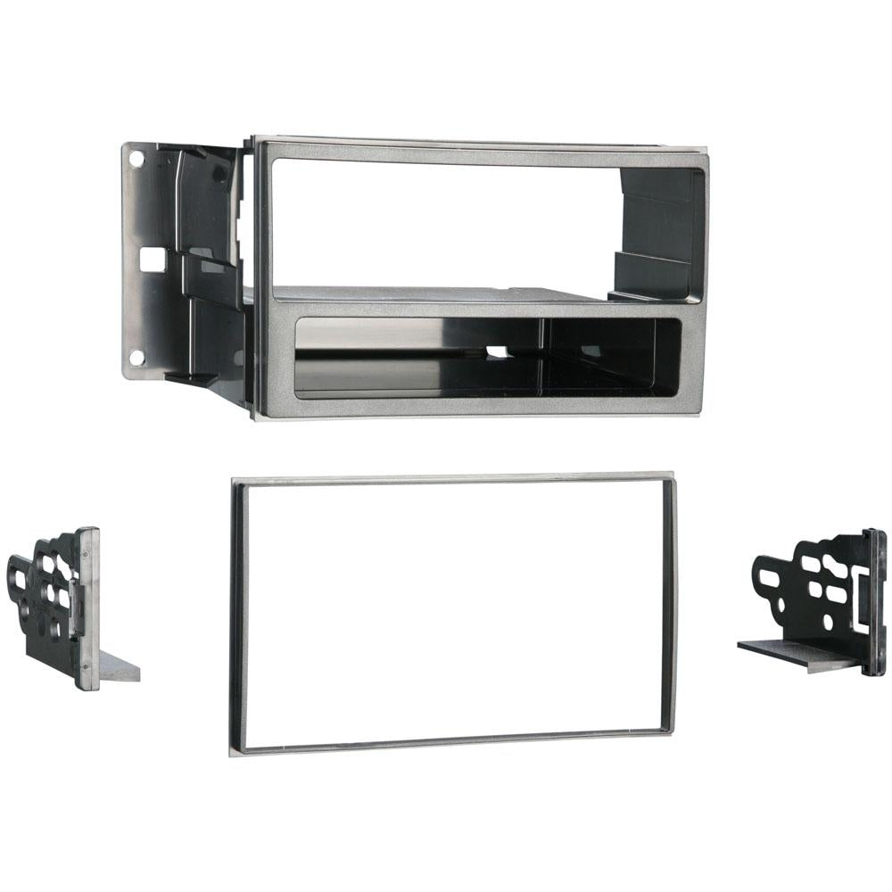 Metra 99-7608 Single/Double DIN Stereo Dash Kit for 09-up Nissan Cube