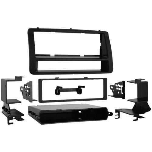 Metra 99-8204 Single DIN Stereo Dash Kit for 2003-2008 Toyota Corolla