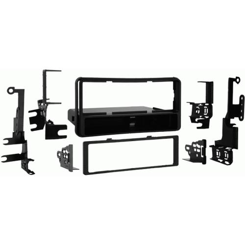 Metra 99-8206 Single DIN Dash Kit for 01-08 Toyota Highlander/4-Runner