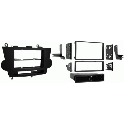 Metra 99-8222 Single/Double DIN Dash Kit for 2008-10 Toyota Highlander
