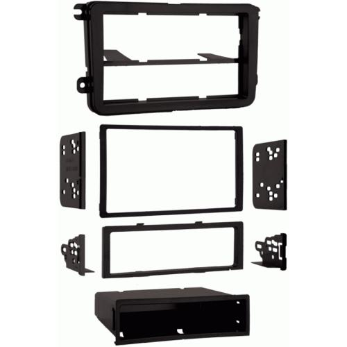 Metra 99-9011 Single/Double DIN Dash Multi-Kit for Select 2005-up VW