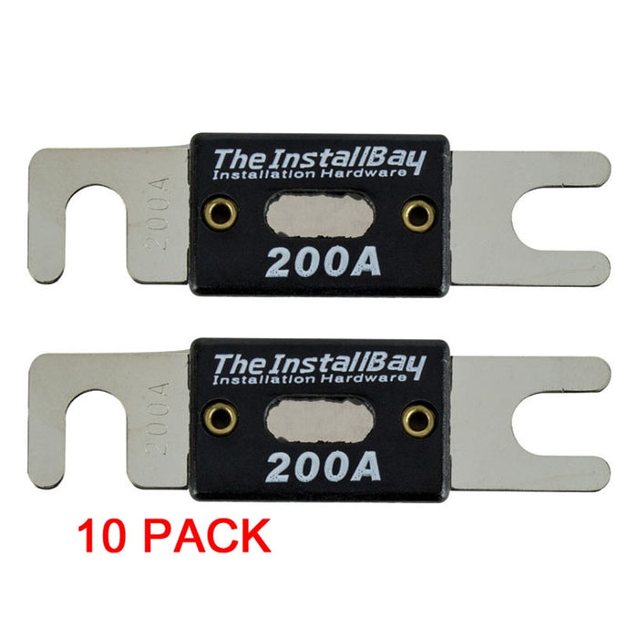 The Install Bay ANL 100-500 AMP High Quality Nickel Plated 100 Amp Fuse (2 or 10/pk)