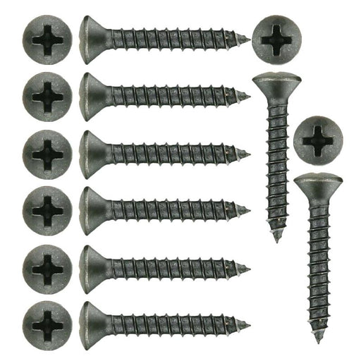 "The Install Bay POH81 #8 x 1"" Phillips Oval Head Screw (500/pack)"