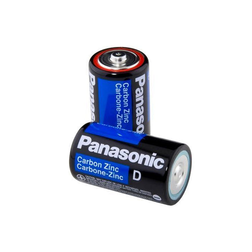 2 PCS Size D Panasonic Batteries Super Heavy Duty Power Zinc Carbon D Battery 1.5v (4343333093440)