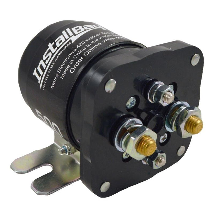 The Install Bay IB500 500 Amp Power Relay Battery Isolator for 12 Volt