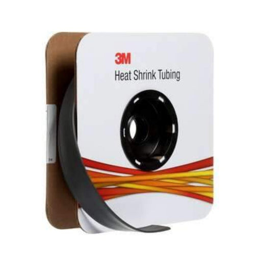 3M FP-301 Black 3/4 in x 50 ft Heat Shrink Thin-Wall Tubing (1.91 cm x 15.24 m) Spool