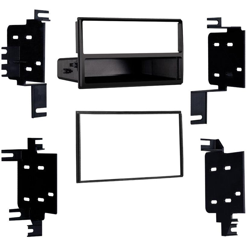 Metra 99-7613 Single/Double DIN Dash Multi-Kit for Select 07-up Nissan