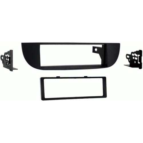 Metra 99-6515B Black Single/Double DIN Dash Kit for 2012-up Fiat 500
