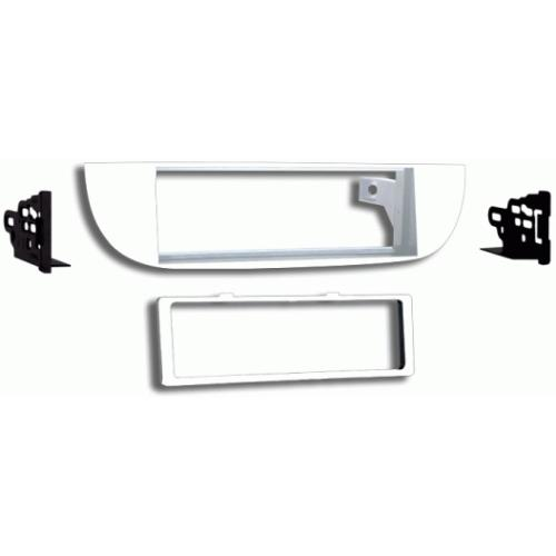 Metra 99-6515W Off-white Single DIN Dash Kit for 12-up Fiat 500