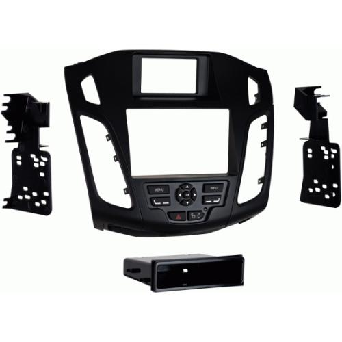 Metra 99-5827B Single/Double DIN Stereo Dash Kit for 12-up Ford Focus