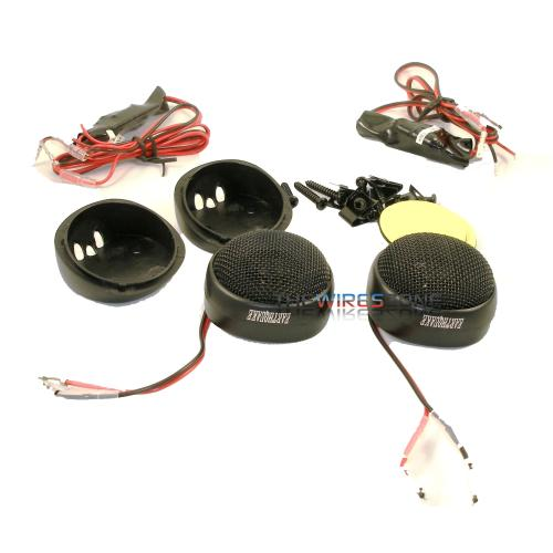 "Earthquake Sound TW-05HD 1/2"" Silk Dome Tweeter with Crossovers (pair)"