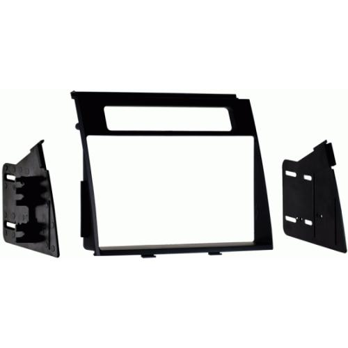 Metra 95-7349B Double DIN Stereo Dash Kit for 2012-up Kia Soul