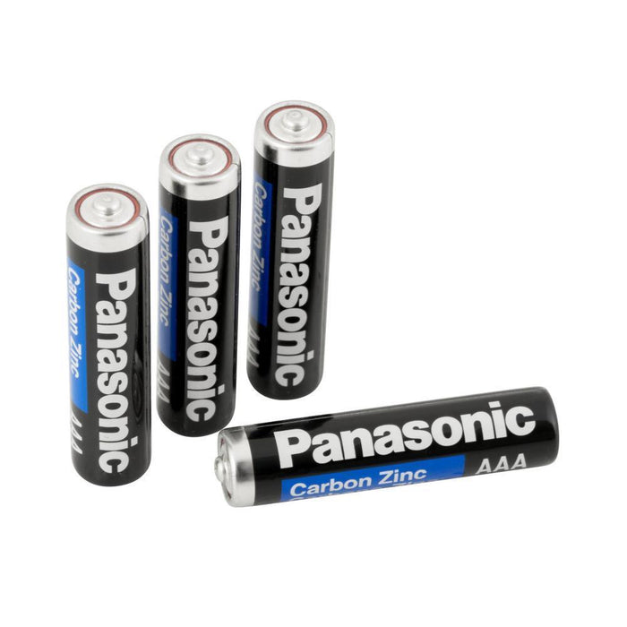 4 PCS Panasonic AAA Batteries Super Heavy Duty Power Carbon Zinc Triple A Battery 1.5v (4343202381888)