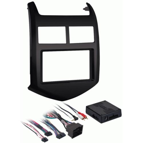 Metra 99-3012G Single/Double Din Dash Kit for 2012-up Chevrolet Sonic