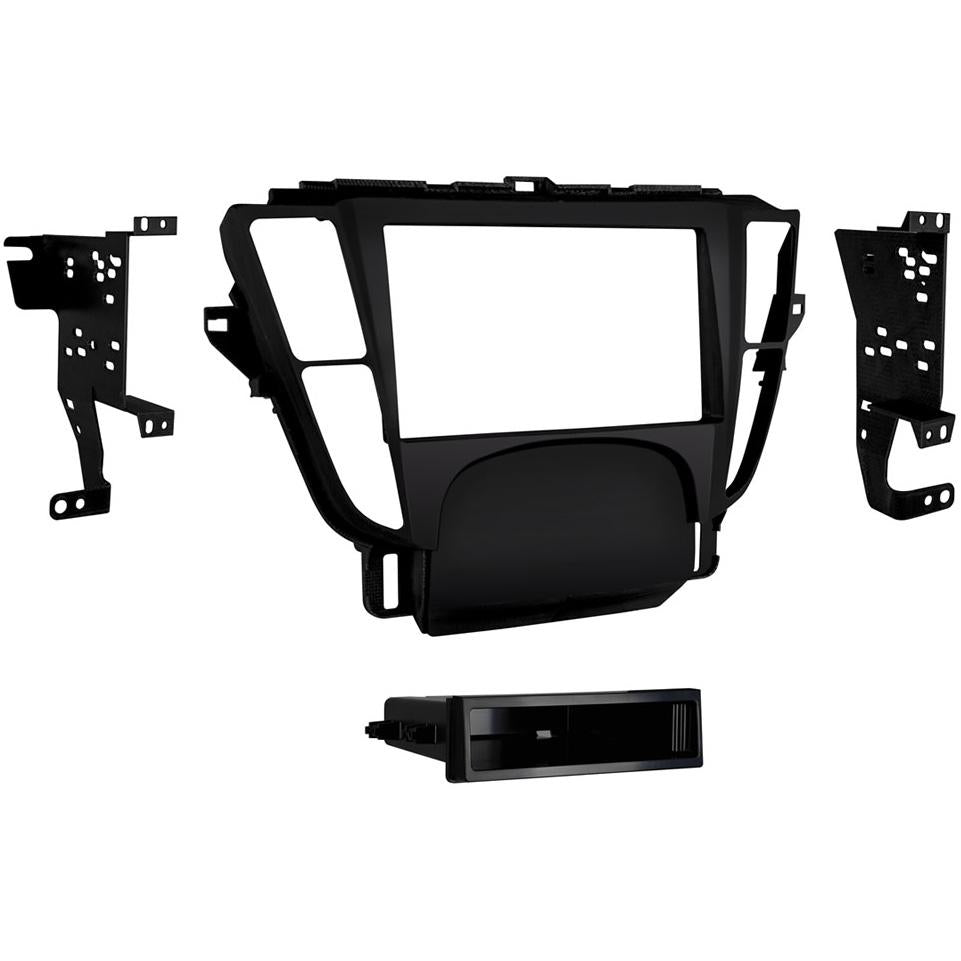 Metra 99-7808B Black Single/Double DIN Dash Kit for 2009-14 Acura TL