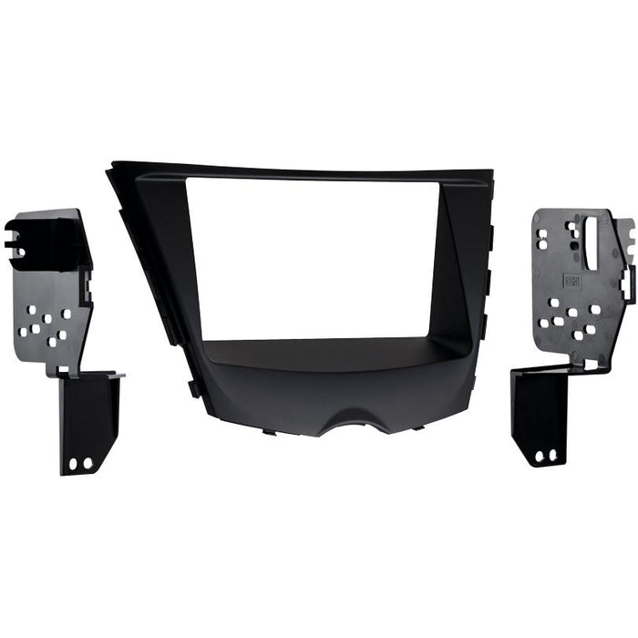 Metra 95-7350B Black Double DIN Dash Kit for 2012-up Hyundai Veloster