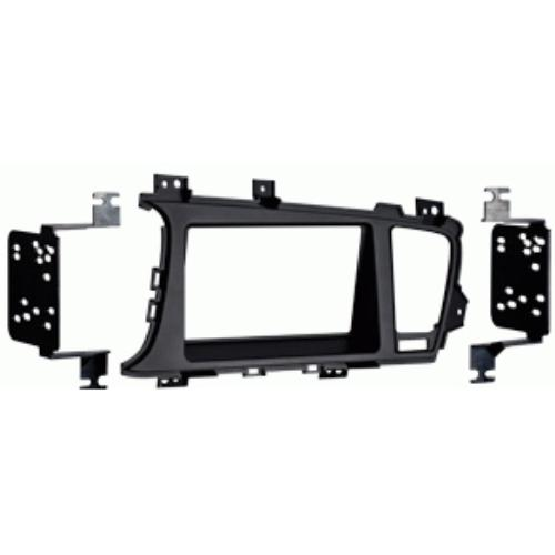 Metra 95-7345B Black Double DIN Stereo Dash Kit for 2011-up Kia Optima