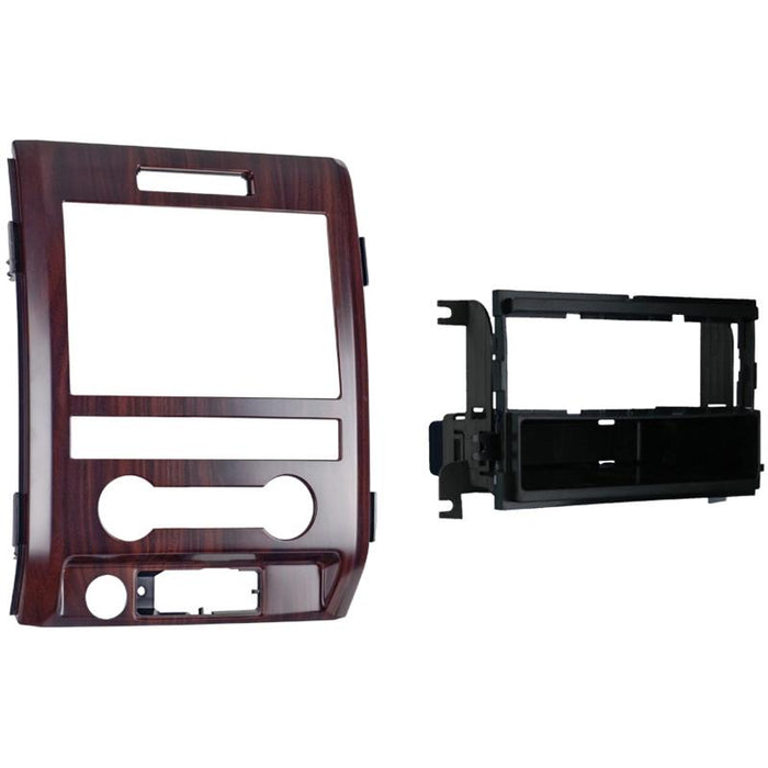 Metra 99-5820CB Cocobolo Single DIN Dash Kit for Select Ford F-150
