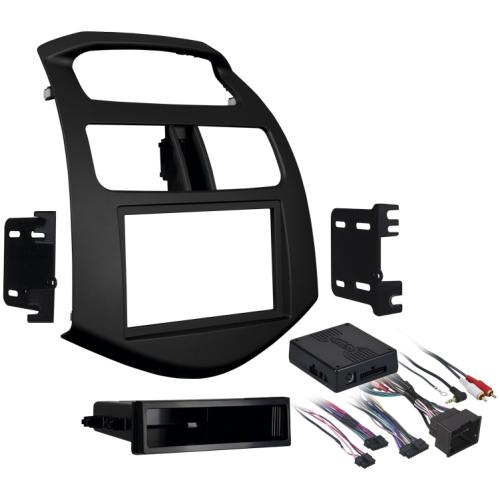 Metra 99-3309B Single/Double DIN Dash Kit for 2013-up Chevrolet Spark