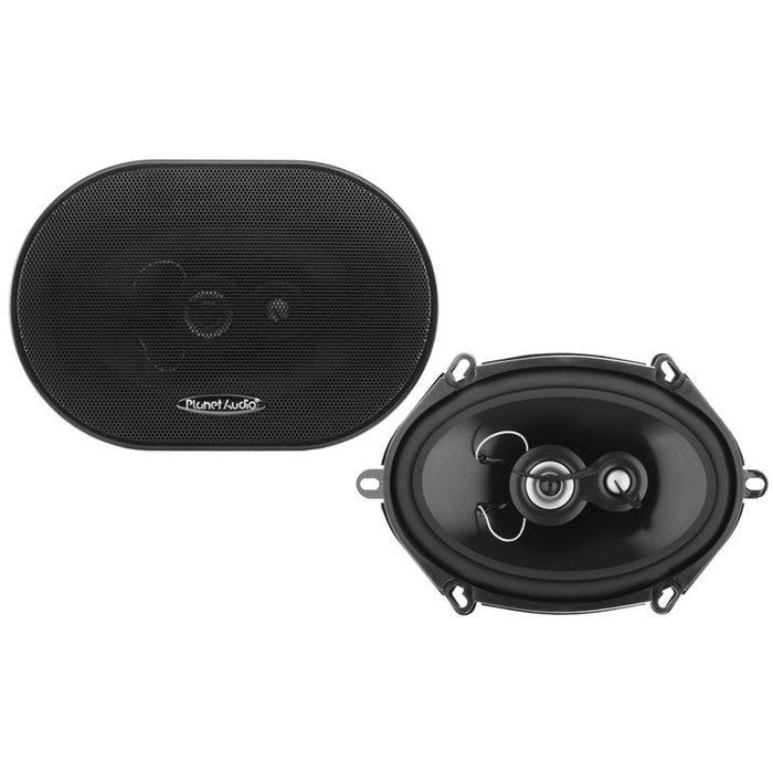 "Planet Audio TRQ573 Torque 5"" x 7"" 3-Way 300 Watts Car Speaker (pair)"