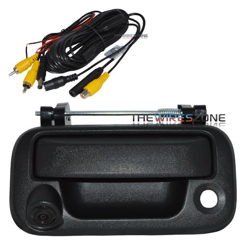 Crimestopper SV-6830.FD Tail Gate Handle Backup Camera for Ford F-150