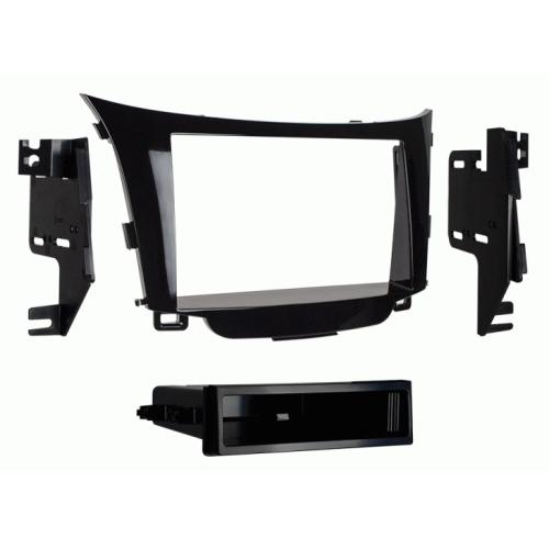 Metra 99-7357HG Single DIN Dash Kit for 2013-up Hyundai Elantra GT