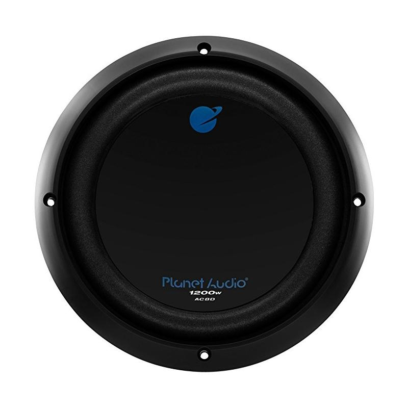 "Planet Audio AC8D 8"" Dual Voice Coil 4 Ohm 1200 Watt Car Subwoofer"