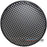 "12"" Steel Speaker/Subwoofer Waffle Mesh Grille with Clips & Screws"