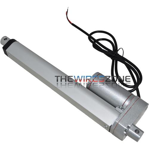 "The Install Bay FLIN8 Heavy Duty 8"" 12V 110lb Car Linear Actuator"