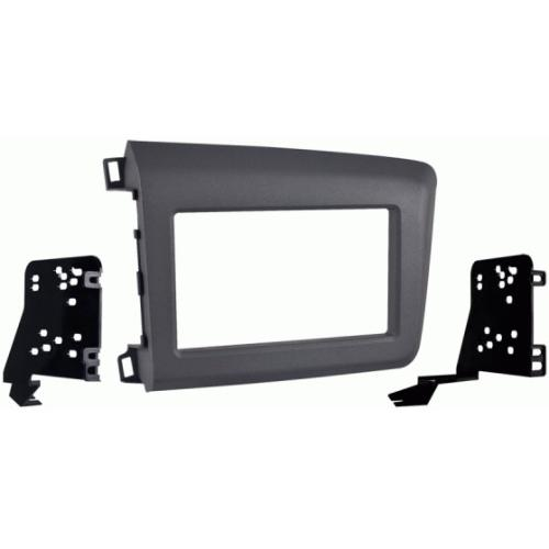 Metra 95-7881G Gray Double DIN Stereo Dash Kit for 2012 Honda Civic
