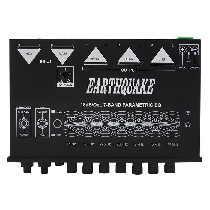 Earthquake Sound EQ-7000PXI 7-Band Equalizer with Sub Level Control