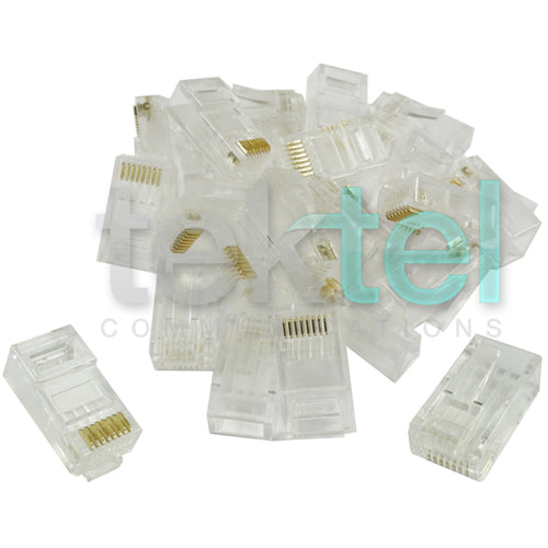 Ethernet Gold Plated Network RJ45 8P8C CAT6 Modular Plug