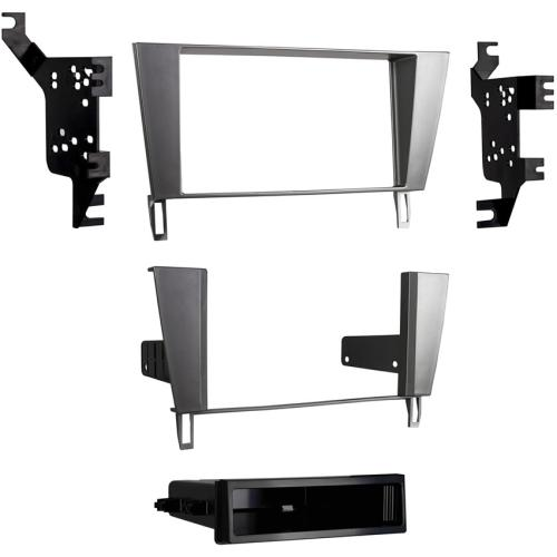 Metra 99-8161S Silver Single/Double DIN Dash Kit for 02-10 Lexus SC430