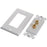 Ethereal IHT-BNDPSTX2 Banana Binding Post Wall Plate for One Speaker