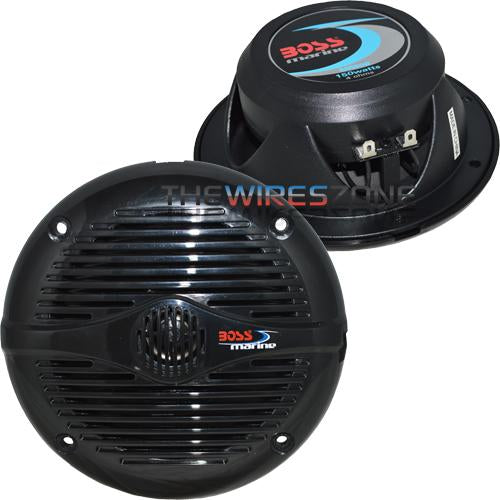 "Boss Audio MR50B 150W 5.25"" 2-Way Marine Full Range Speaker (pair)"