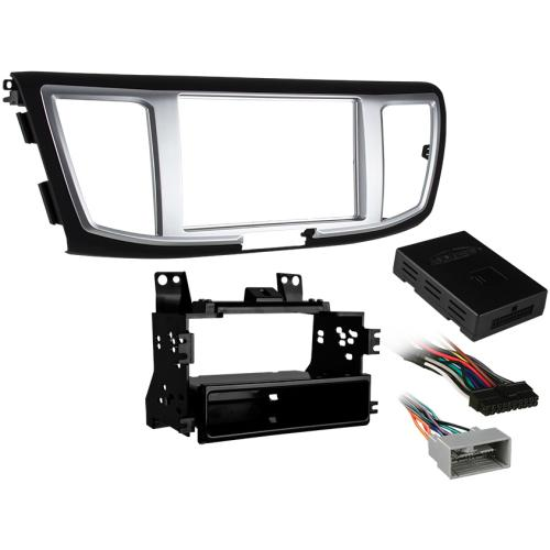 Metra 99-7804B Single/Double DIN Dash Kit for 2013-up Honda Accord