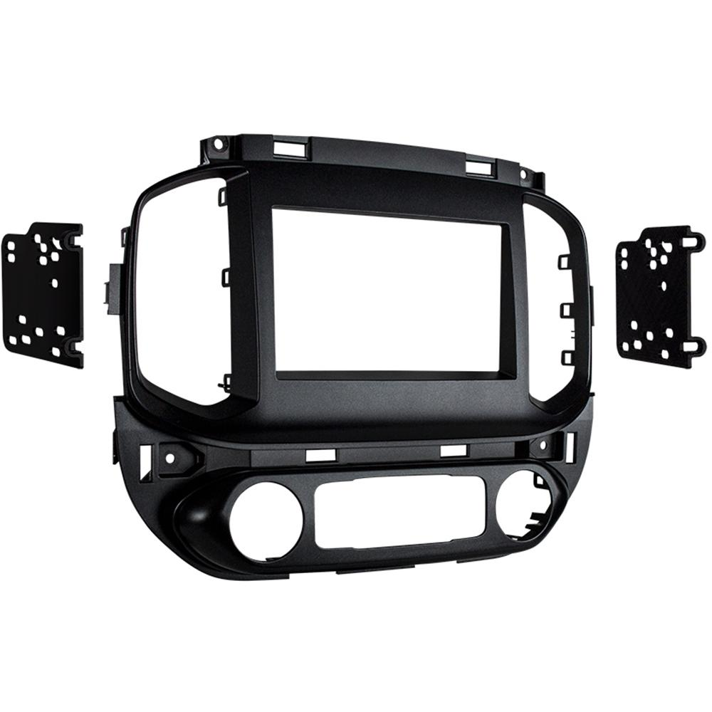 Metra 95-3016G Gray Double DIN Dash Kit for Select 15-up Chevrolet/GMC
