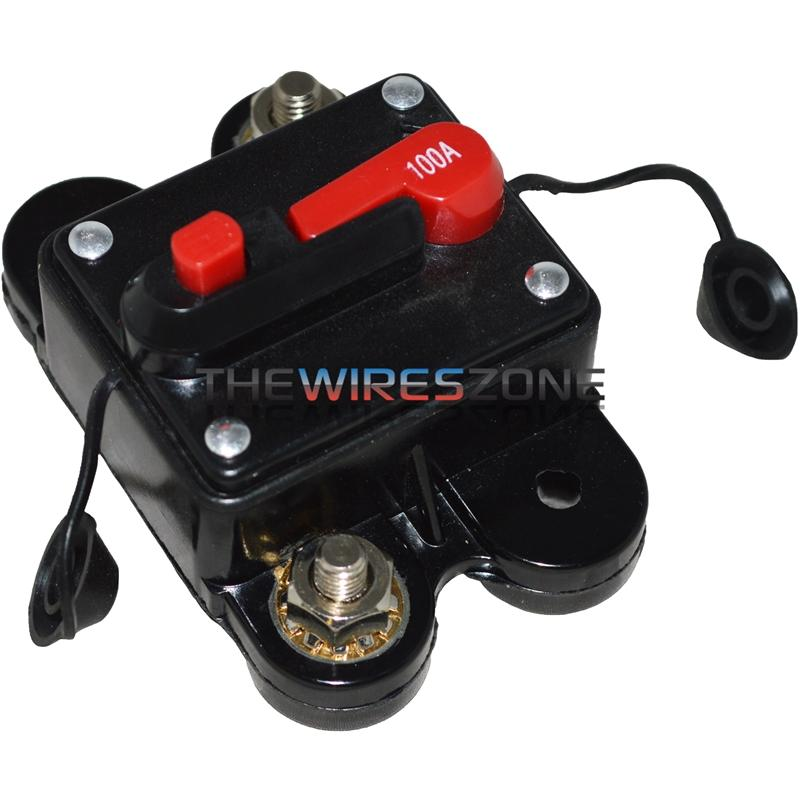 High Quality 100 Amp Manual Setting Circuit Breaker