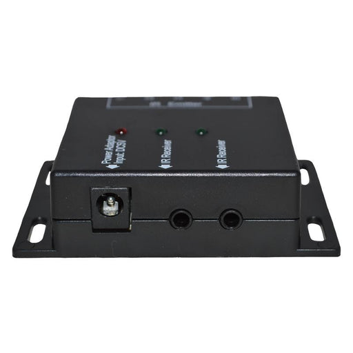 Hidden IR Remote Repeater System for up to 4 Audio/Video Components