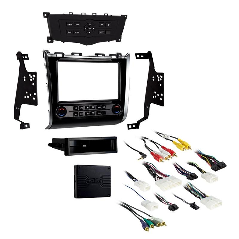 Metra 99-7627HG Single/Double DIN Dash Kit for 13-up Nissan Pathfinder