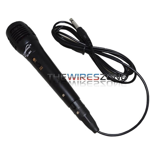 Supersonic SC-901 ProVoice Black Dynamic Vocal Professional Microphone
