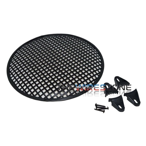 "WG10A Universal Steel 10"" Waffle Speaker Woofer Grille with Hardware"