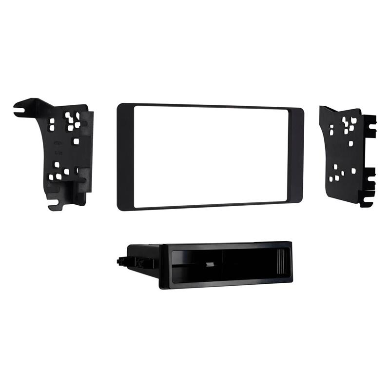 Metra 99-7018B Black 1-DIN Dash Kit for Select Mitsubishi Outlander