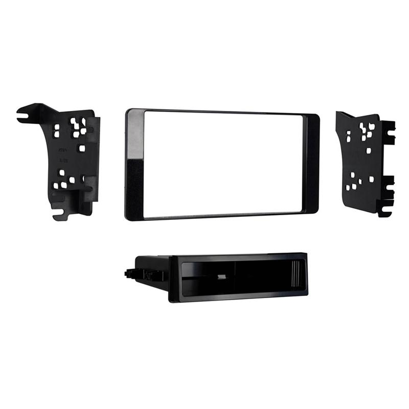 Metra 99-7018CHG Charcoal Gloss 1-DIN Dash Kit for Select Mitsubishi