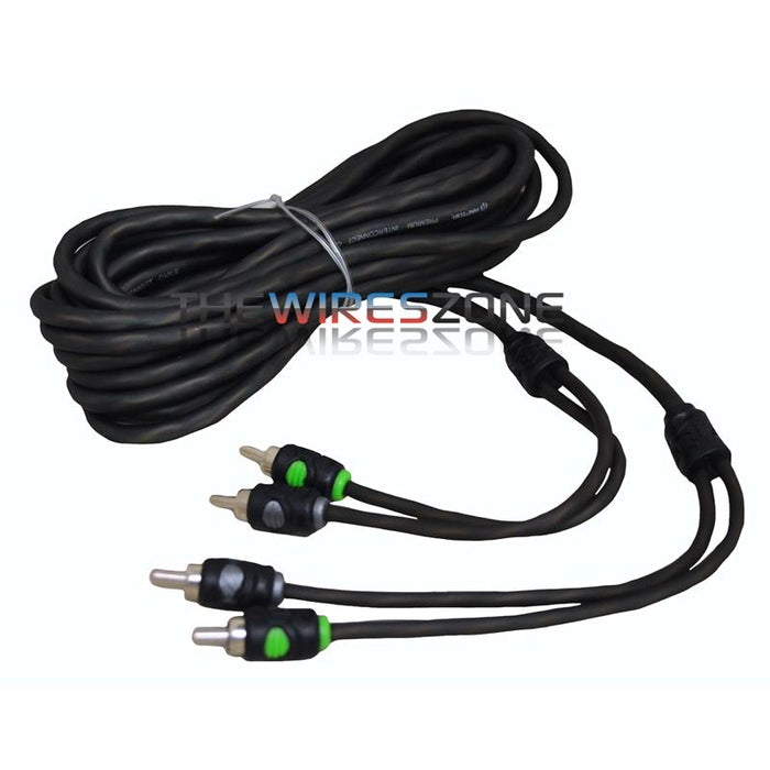 Raptor R5RCA20 Pro Series 20 Feet Dual Twist 2-Channel RCA Cable