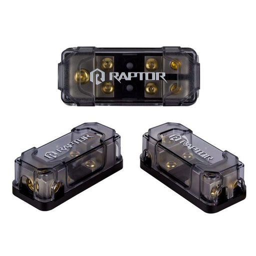 Raptor R52MANL 2-Position 1/0/4/8 Gauge MANL Fused Distribution Block